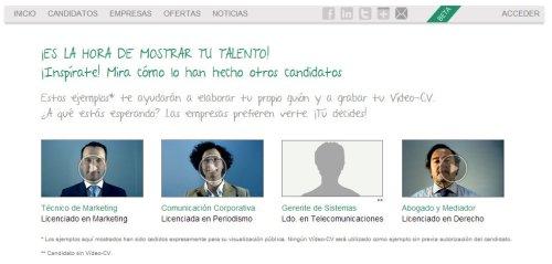 Ejemplos videocurriculum Yovijob